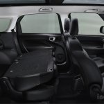 Fiat 500L Living seats folded