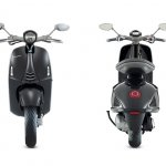 Front and rear of the Vespa 946