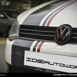 Front grill of the VW Polo modified by IDE Autoworks