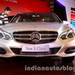 Front of the 2014 Mercedes E Class