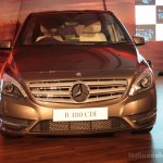 Front of the Mercedes B 180 CDI