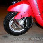 Front wheel of the Vespa VX 125