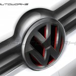 Grill sketch of the VW Polo modified by IDE Autoworks