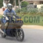 Hero-EBR Sportsbike caught testing in India