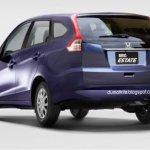 Honda Brio MPV rendering - Rear