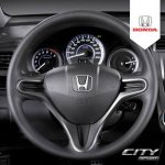 Honda City Sports steering wheel