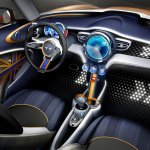 Interior of the MINI Vision design concept