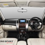Interior of the Mitsubishi Pajero Sport Anniversary Edition