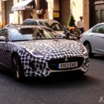 Jaguar F-Type Coupe Spied in US front