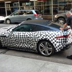 Jaguar F-Type Coupe Spied in US