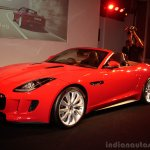 Jaguar F-Type front three quarters view
