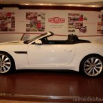 Jaguar F-Type white side