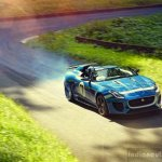 Jaguar Project 7 accelerating