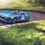 Jaguar Project 7 front three quarter