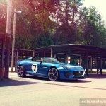 Jaguar Project 7 front view