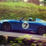 Jaguar Project 7 on the road