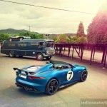 Jaguar Project 7 rear three quarter