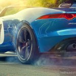 Jaguar Project 7 rear wheel