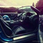 Jaguar Project 7 steering wheel