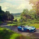Jaguar Project 7 through a road