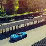 Jaguar Project 7 top view