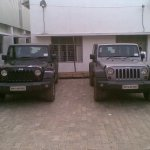 Jeep Wrangler spied in India Unlimited