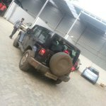 Jeep Wrangler spied in India