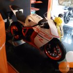 KTM RC8 on display at Chennai outlet