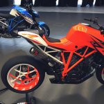 KTM Super Duke 1290 production version & Prototype