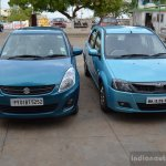 Mahindra Verito Vibe Maruti Swift Dzire comparison