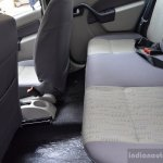 Mahindra Verito Vibe rear seat maximum space
