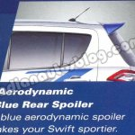Maruti Swift RS spoiler
