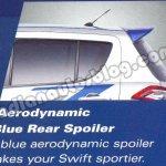 Maruti Swift RS spoiler