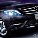 Mercedes B180 Northern Lights Black special edition launched in Japan