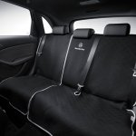 Mercedes B180 Northern Lights Black special edition rear seat
