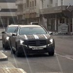 Mercedes GLA front spyshot