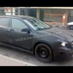 Mercedes GLA side view spyshot