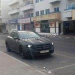Mercedes GLA spyshot