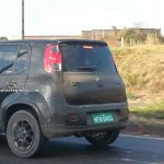 New Fiat Uno facelift spied bootlid