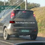 New Fiat Uno facelift spied rear