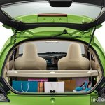 New Honda Brio facelift boot space
