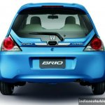 New Honda Brio facelift rear