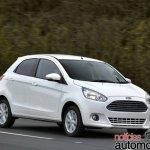 Next generation Ford Figo rendering - Front