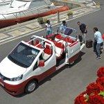 Nissan Evalia C top view