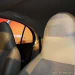 Nissan Micra Active integrated front headrest