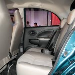 Nissan Micra Active rear seat legroom