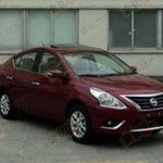 Nissan Sunny facelift front
