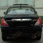 Nissan Sunny facelift rear