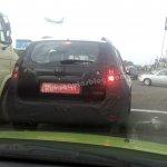 Nissan Terrano rear spied