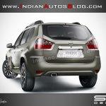 Nissan Terrano rear